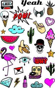 Dětské Tetování Emoji