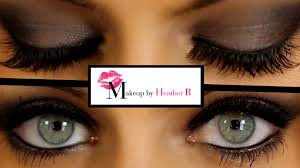how to do smokey eyes learn from professional makeup artist heather b you
