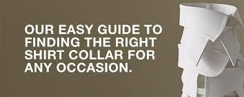 Guide to <b>Men's</b> Dress Shirt <b>Collar</b> Types | Paul Fredrick