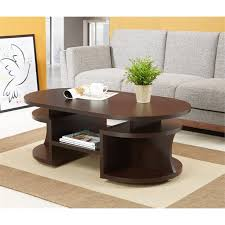 image is loading furniture of america chancelor oval coffee table in