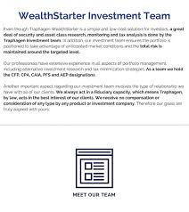what does extensive experience mean wealthstarter bergen county nj traphagen financial group
