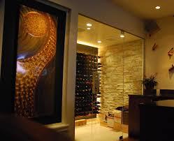 Wine cellar lighting Led Wine Cellar With Glass Doors Wine Cellar With Led Lighting Stact Wine Racks Glass Wine Rooms continued Stact Wine Racks