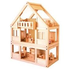 images about Wooden Dollhouses on Pinterest   Wooden    Plan Toys My First Dollhouse