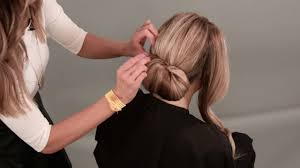 Chingon Hair Style how to do a chignon hairstyle youtube 5615 by wearticles.com
