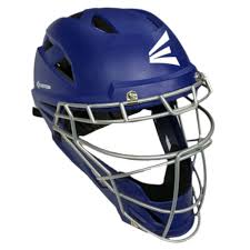 Easton Catchers Gear Size Chart Easton M7 Adult Baseball Catchers Helmet A1653 Navy Red Royal Large Small