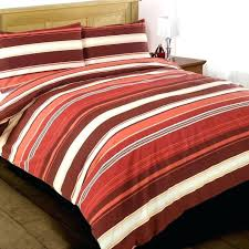 rugby stripe duvet covers small size of single modern funky red white striped cotton duvet set