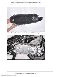 kymco downtown 300i 200i scooter repair manual in print repair kymco downtown 300i 200i scooter repair manual in print page 4