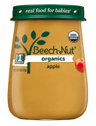 Beech-Nut® <b>Organics apple</b> Stage 1 <b>Baby Food</b>