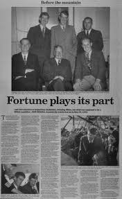 Newspaper Article 2003 – Fortune plays its part : Hawke's Bay Knowledge Bank