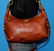 COACH  MADISON  Brown Leather Shoulder Hobo Convertible Tote Purse Bag 14304