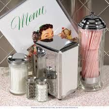 Diner Tabletop 50s Style Accessories Set