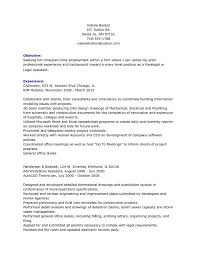 Resume Objective For Paralegal personal injury paralegal resume objective experience 22