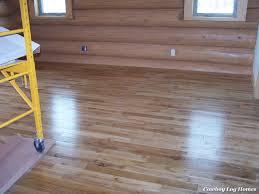 Master Bedroom Flooring Oak Wood Flooring Cowboy Log Homes