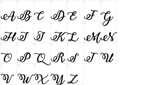 Bold Stylish Calligraphy Font Urbanfonts Com