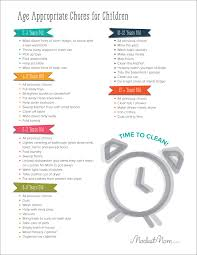 An Age By Age Guide To Appropriate Chores For Children