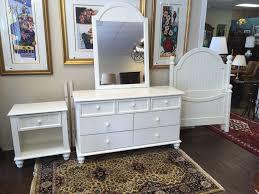 3 Piece White Bedroom Set