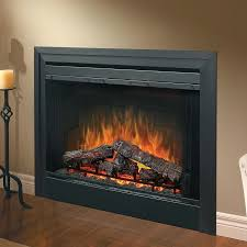 42 inch electric fireplace estate design lyndon linear in black