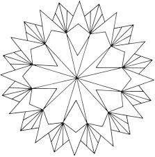 Printable Coloring Pages geometric shape coloring pages : Geometric Pattern Coloring Pages pertaining to Motivate in ...