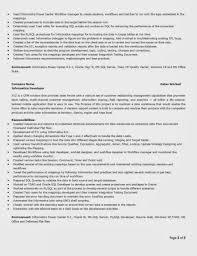 Sql Developer Resume Sample Data Warehouse Developer Resume Examples Charming Pl Sql Sample 27