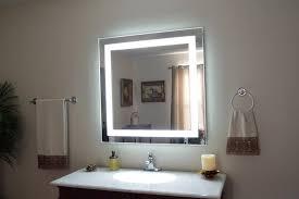 diy vanity mirror with light design