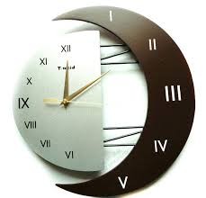 fun rooms wall clock ideas living room wall clock decorating moon fun clock ideas living room