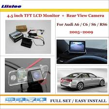 <b>Liislee</b> For Audi A6 / C6 / S6 / RS6 2005~2009 - <b>Car Backup</b> Rear ...