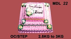 Order Pretty Pink Colored Cake In Step Online From Guntur At Best