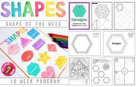 Shapes Chart For Nursery Free Printable Charts Preschool Mom