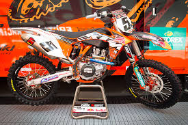 ktm introduces it s newest supercross and motocross team member