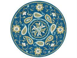 loloi rugs francesca fc 53 3 0 round blue green area rug fracfc 53bbgr rou