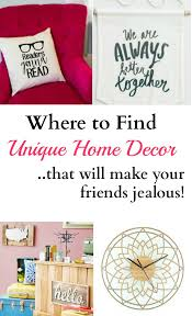 Small Picture Where to Find Unique Home Decor Unique Spaces and Frugal living