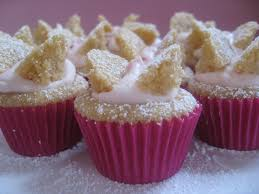 Brown Sugar Butterfly Cakes With Raspberry Cream Mybestdaysevercom