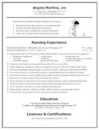 Resume For Nurses Awesome Registered Nurse Sample Resume Spacesheepco