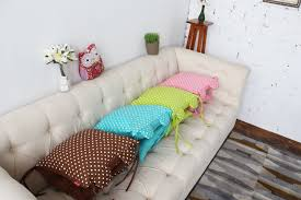 Sofa back cushion covers