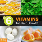 what vitamins increase hair growth