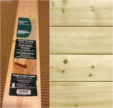 planks to use for tongue and groove wall