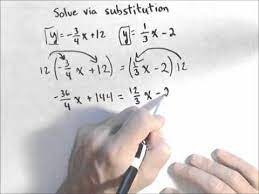 solving a system involving fractions