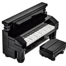 Musical Furniture Amazoncom Lego Furniture Black Upright Piano Custom Set New