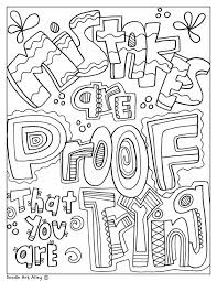 More than 5.000 printable coloring sheets. Testing Encouragement Classroom Doodles