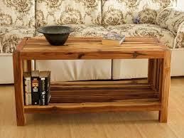 coffee table teak wood