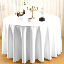 90 inch round tablecloth white inch polyester round tablecloths plastic tablecloths 90 inch round