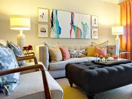 Living Room Wall Art And Decor Gray Eclectic Living Room Living Rooms With Gray Walls Furniture