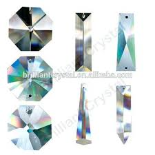 crystal lamp parts machine cut crystal chandelier parts t for lamp pendants accessories lead crystal chandelier