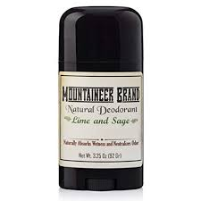 Buy Mountaineer <b>Brand All Natural</b> Deodorant: Lime and Sage ...