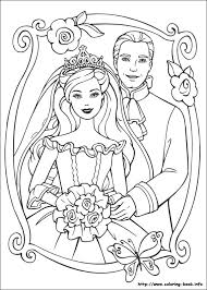 Small Picture Barbie as the Princess and the Pauper coloring picture Barbie