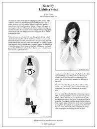 lighting tutorial sanctify by edaoust on deviantart