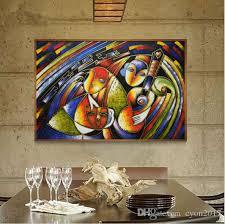 2018 famous paintings clown picasso abstract oil painting wall picture hand painted on canvas decoration art for home office hotel from cyon2017  on famous paintings wall art with 2018 famous paintings clown picasso abstract oil painting wall