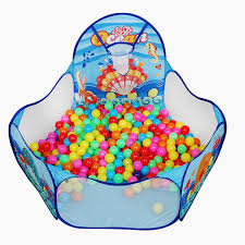 portable kids child ball pit pool play tent indoor outdoor game fun gift novelties toys