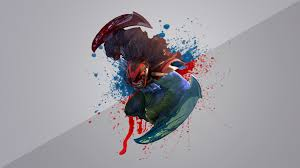 bloodseeker dota 2 poster wallpapers hd download desktop