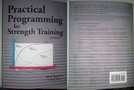 practical programming for strength training 3rd edition review front and back cover of practical programming photograph powerliftingtowin com